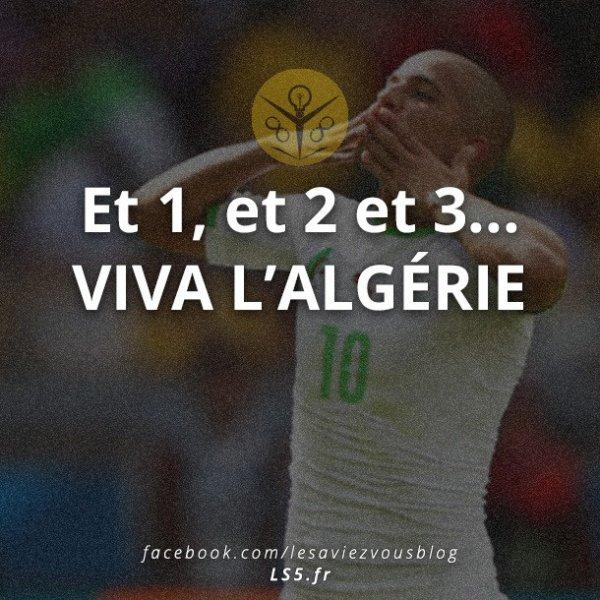 1 2 3 vive l'algerie