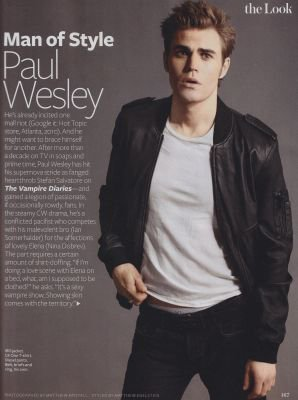 Paul & Candice Scans Magazine