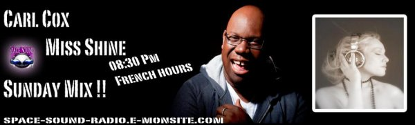 Dj Carl Cox Vs Miss Shine - Sunday Mix 27.01.2013