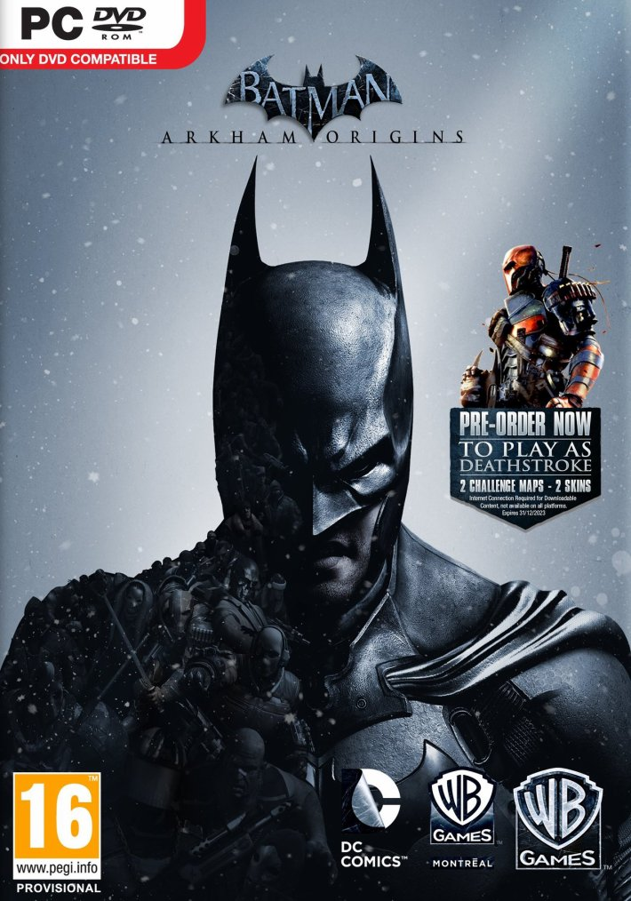 Batman Arkham Origin 20 Euro