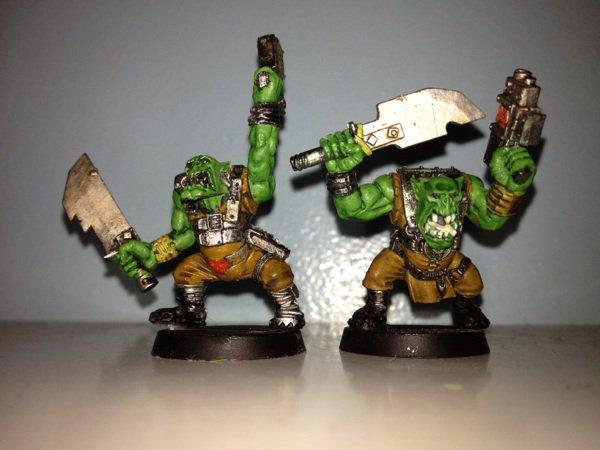 Bande de Boyz orks