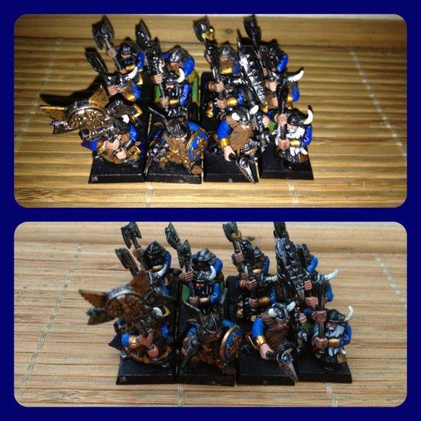 Les guerriers nains du clan Jormgard
