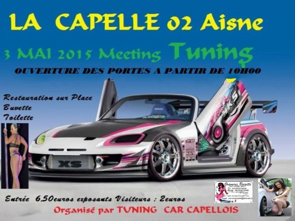 MEETING TUNING LE 3 MAI 2015