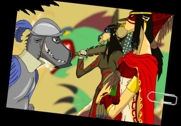 Les Altatèques : des sauvages ?