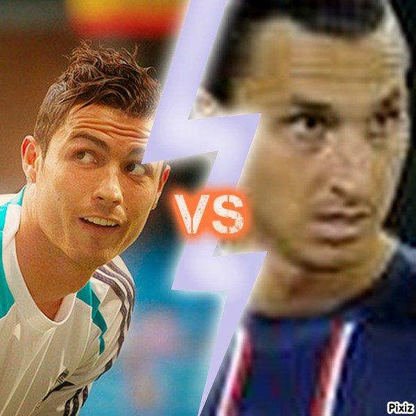 Cristiano Ronaldo taillé par Zlatan Ibrahimovic !