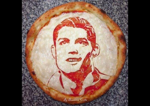 La pizza Cristiano Ronaldo !