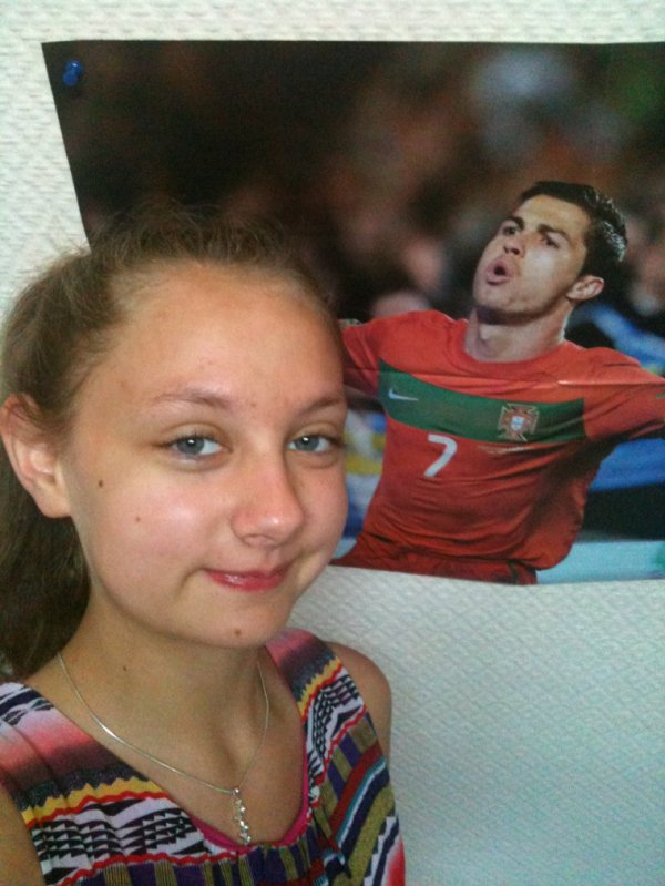 Photo with Cristiano ! ^^