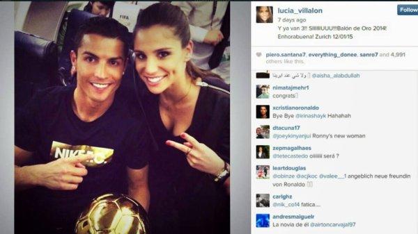 Rumeur: la journaliste du Real Madrid Lucia Villalon serait la nouvelle petite amie de Cristiano..