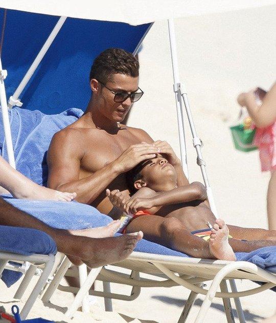 Cristiano et Junior aux Bahamas (22/06)