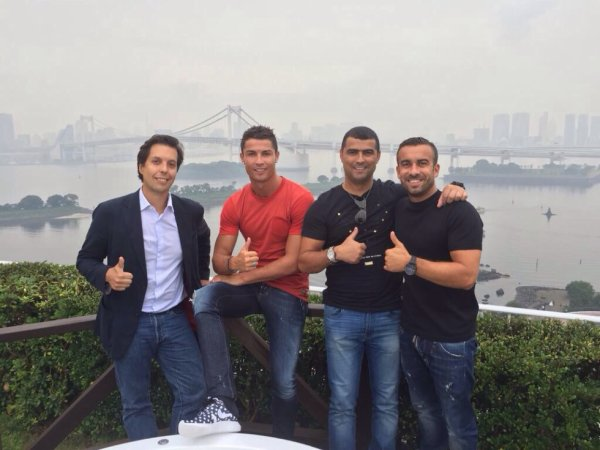 Cristiano, Ricky et Hugo au Japon