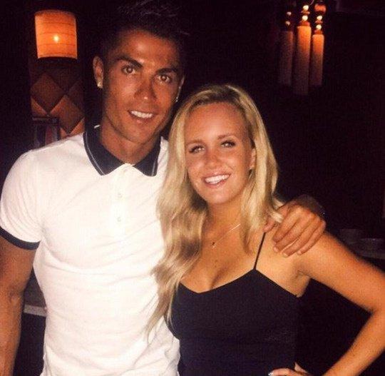 Cristiano et une fan