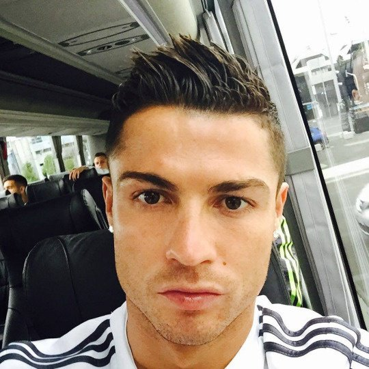 Cristiano via Instagram