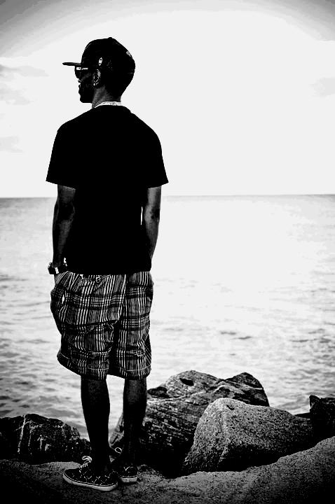 Moi , a la plage.