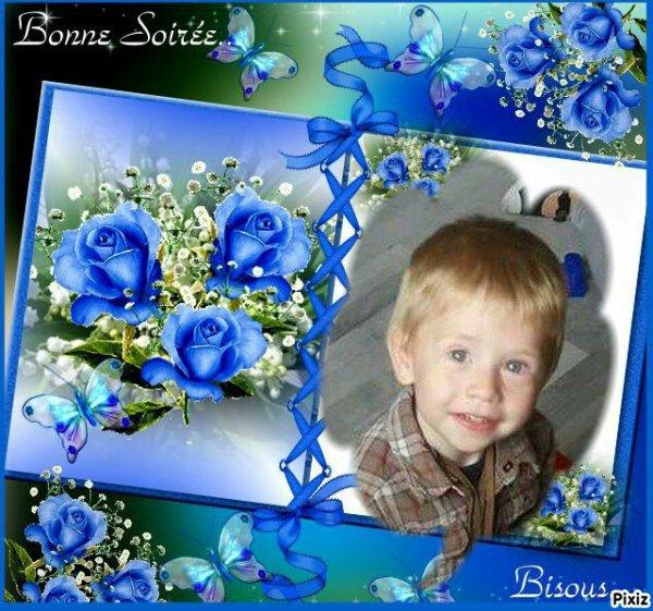 Mon petit fils ..Bayron (l)