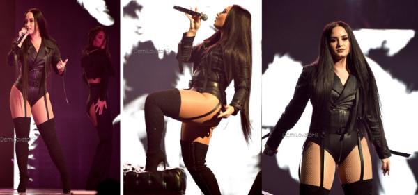 28.02.18 : Demi lors de sa tournée à San José.