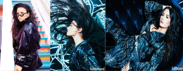 Demi posant pour le célèbre magazine Billboard. Les photos sont réussies !