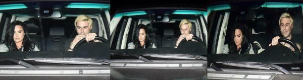 Demi a enfin été aperçue après 3 longs mois de cure avec Henri Alexander, qui est propriétaire de la marque de vêtements 'Enfants Riches Déprimés'