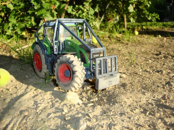 tracteur forestier miniature