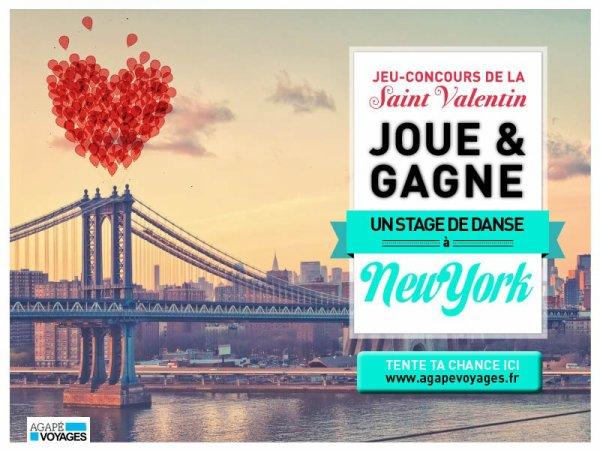 JEU CONCOURS Saint Valentin pour les amoureux de la danse