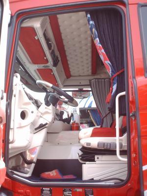 Interieur du scania r660 longline les photos de scania for Interieur scania longline