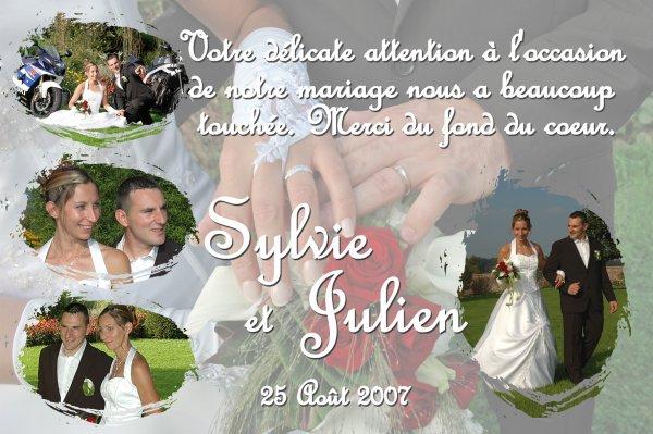 remerciements mariage - Montage Photo Remerciement Mariage
