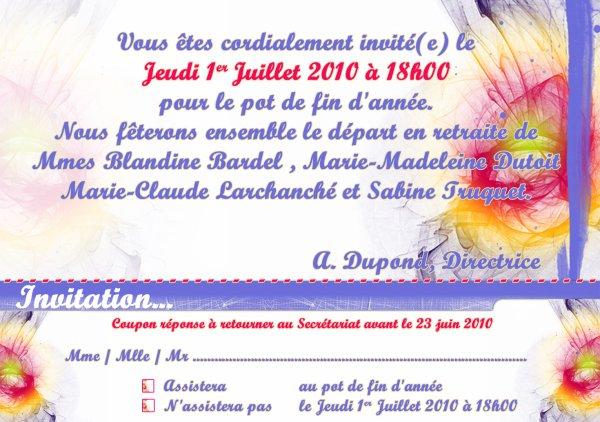 invitation pot de fin d 233 e vauban l ebook de mes cr 233 ations photoshop