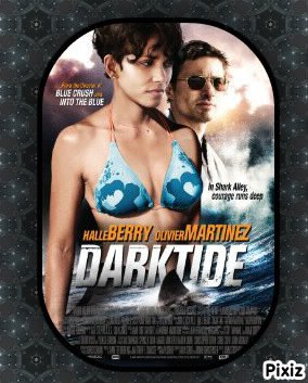 """""""Dark Tide"""" avec Halle Berry et Olivier Marinez."""