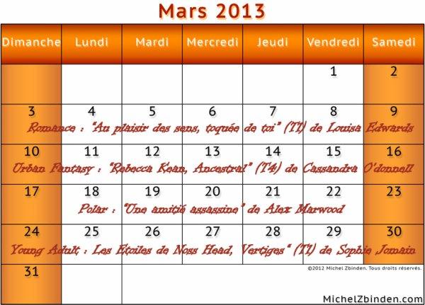 Les couleurs de Mars...