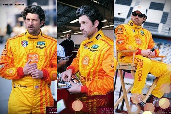 .  6 et 8 Janvier 2012 - Patrick  était présent aux tests pour les 24h de Daytona.  .