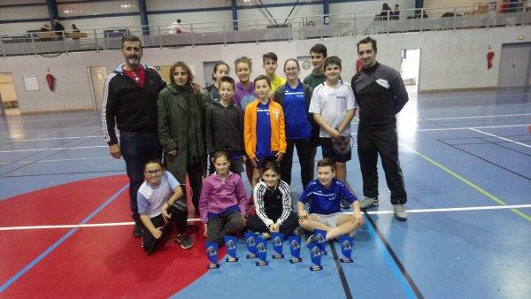 Championnat du Gard Jeunes en Doubles et Mixtes   7 Titres