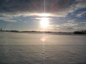 Un hiver tout en blanc !!