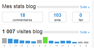1000 visites.