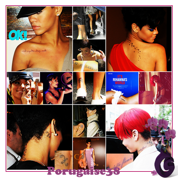 RIHANNA : TATOO STORY...