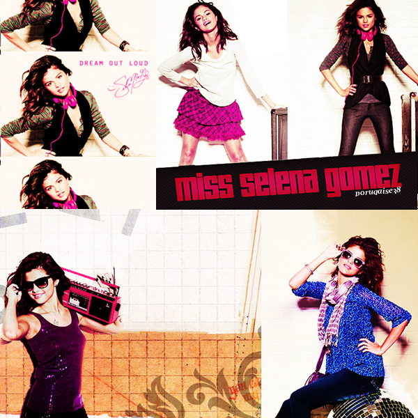 SELENA GOMEZ : NOUVEAU PHOTOSHOOT DREAM OUT LOUD !