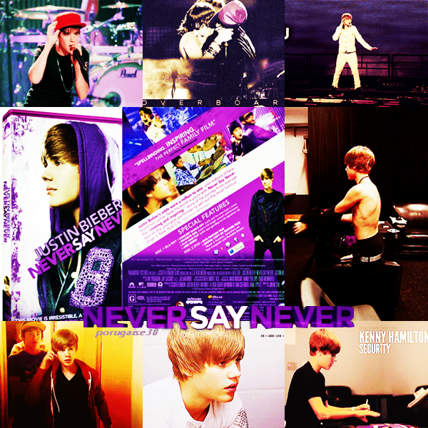 JUSTIN BIEBER : NEVER SAY NEVER  EN DVD ET BLUE RAY!