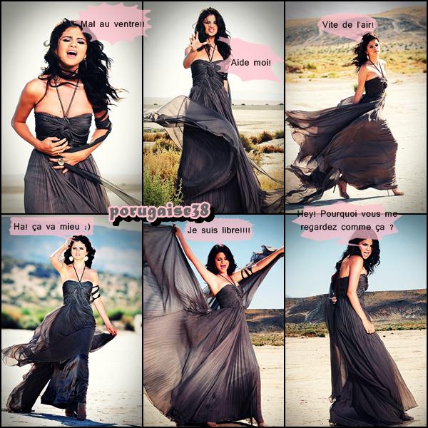 """Selena gomez: Première images de son clip """"A Year Without Rain"""""""