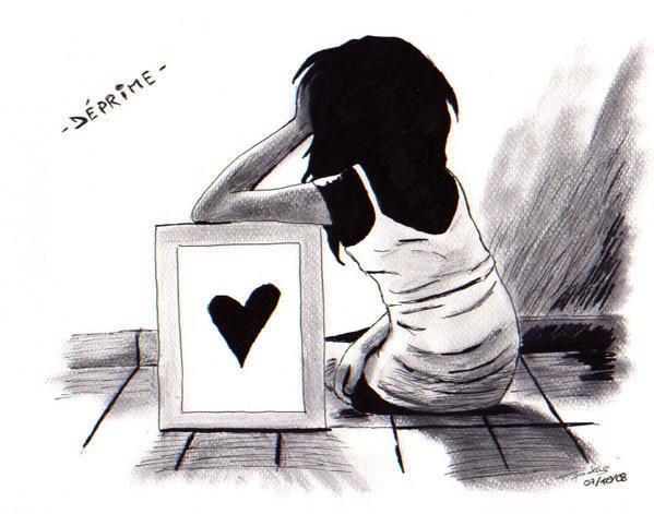 etre déprimé ...