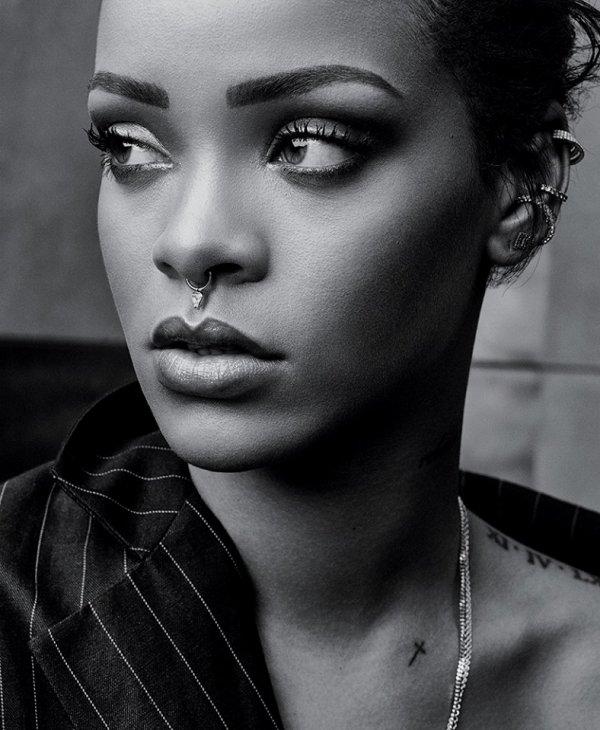 Un quart d'heure avec Rihanna!