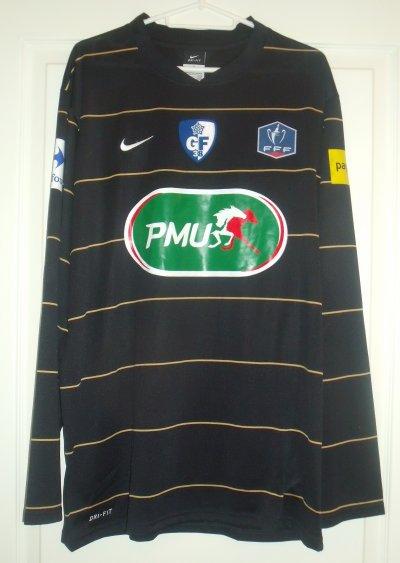 Jody Viviani saison 2010/2011. Maillot coupe de France porté lors du match Grenoble-Bagnols Pont Saint Esprit !!