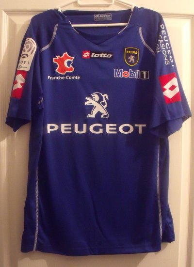 Teddy Richert maillot porté, saison 2010/2011 !!