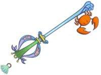Keyblade chaîne Trésor des Mers