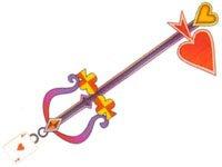 Keyblade chaîne As de Coeur