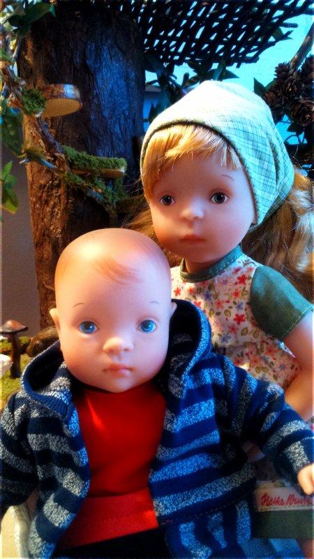 Mes poupées Sylvia Natterer