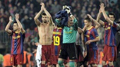 LE FC BARCELONE EN DEMI FINALE DE LA CHAMPIONS LEAGUE
