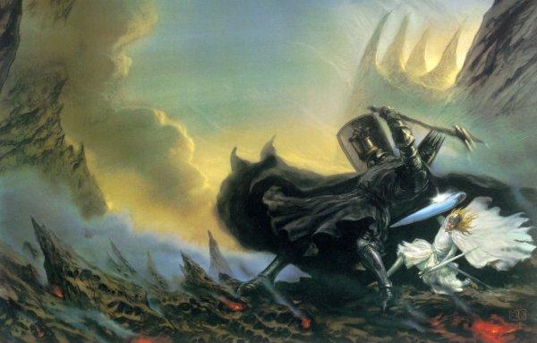 Melkor vs Fingolfin