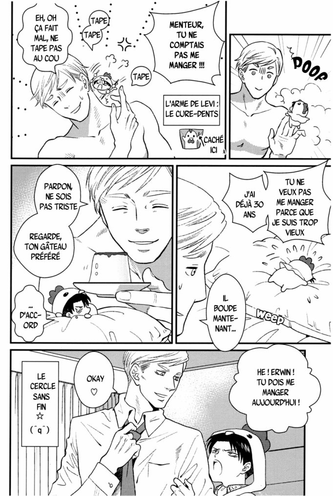 Shingeki no kyojin - Kokko heicho chapitre 1 partie 2