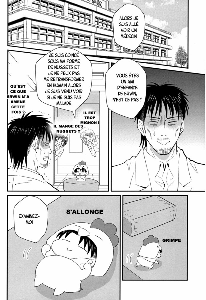 Shingeki no kyojin - Kokko heicho chapitre 3 partie 1