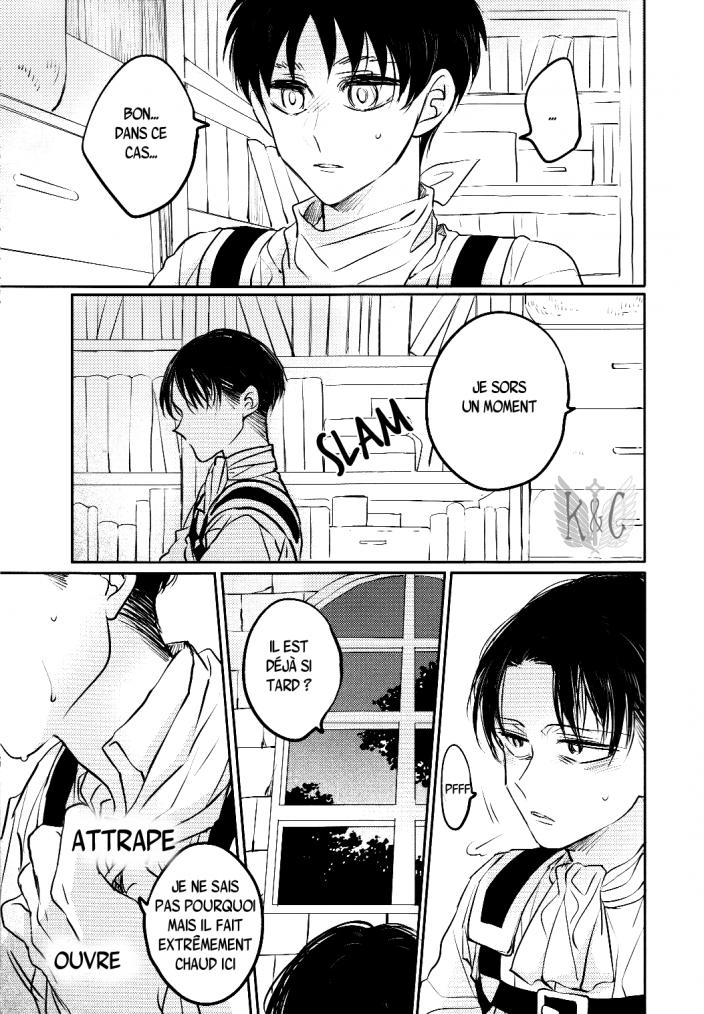 Shingeki no kyojin - love due to conscious neglect chapitre 1 partie 2