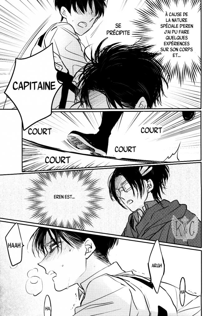 Shingeki no kyojin - love due to conscious neglect chapitre 1 partie 3