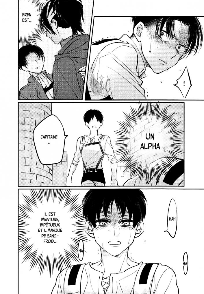 Shingeki no kyojin - love due to conscious neglect chapitre 1 partie 4